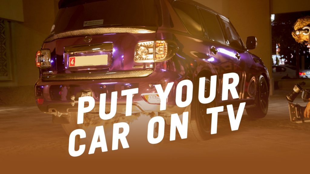 Put your Car on TV